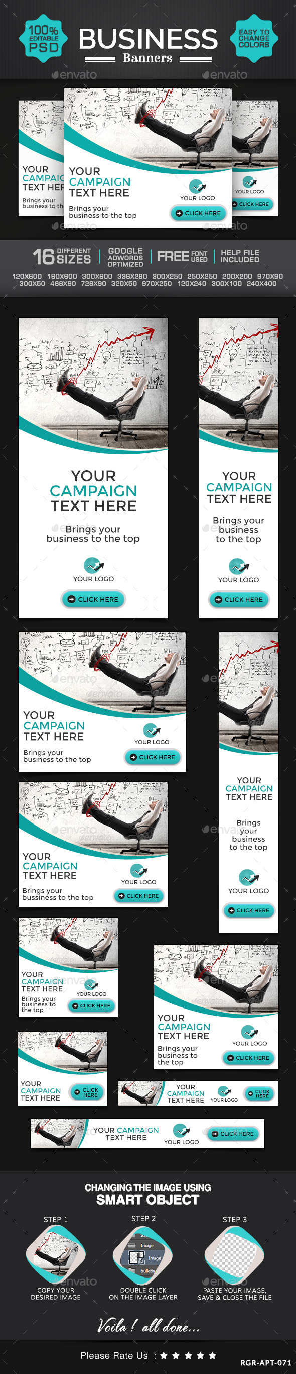 GraphicRiver Business & Marketing Banners 8987947