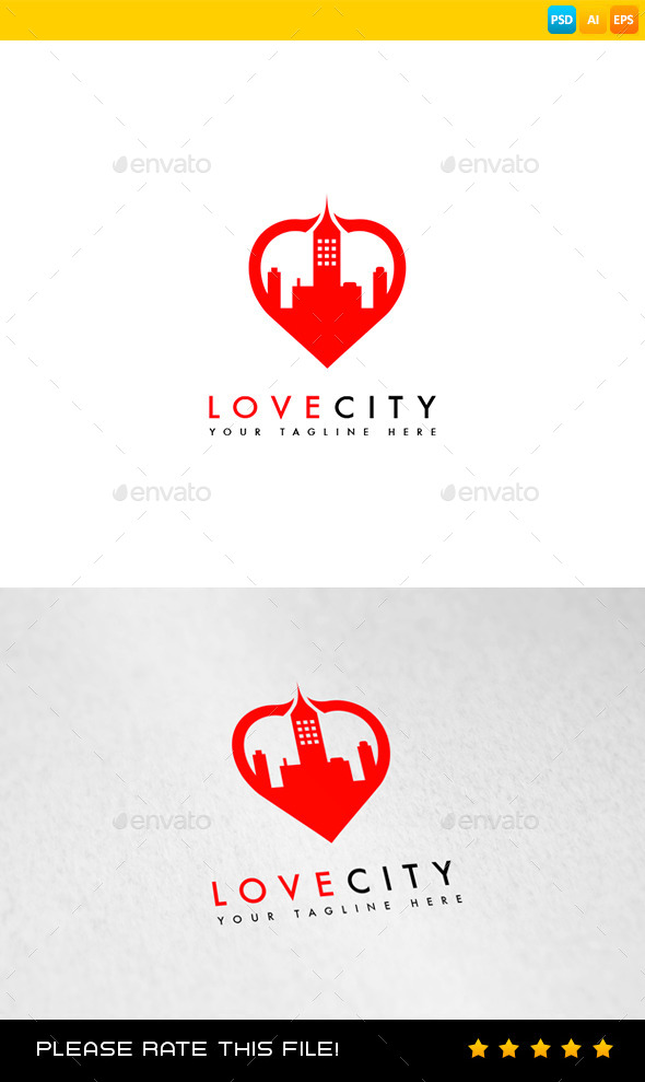 GraphicRiver City Logo 8987955