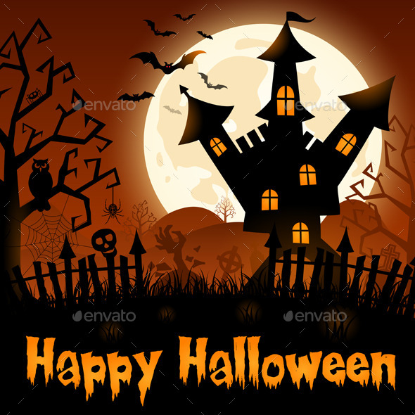 GraphicRiver Halloween Poster 8987973