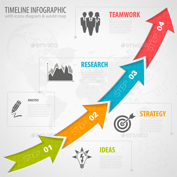 GraphicRiver Timeline Infographic 8987976