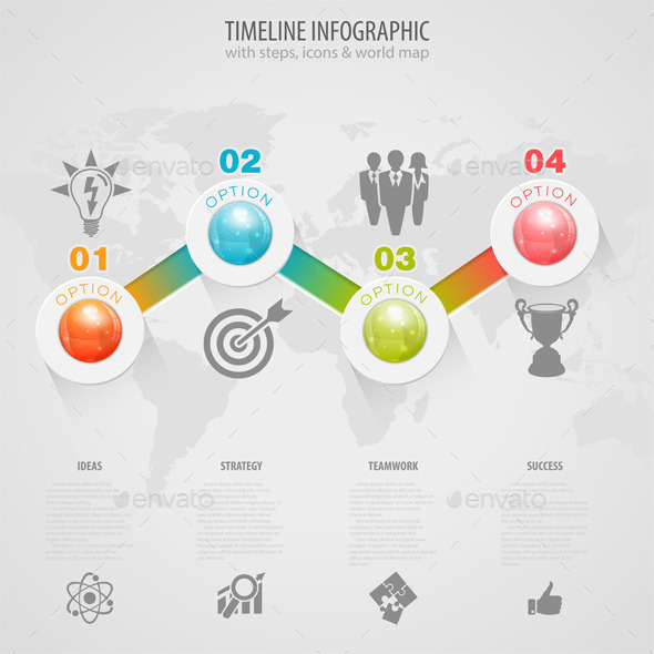 GraphicRiver Timeline Infographic 8987981