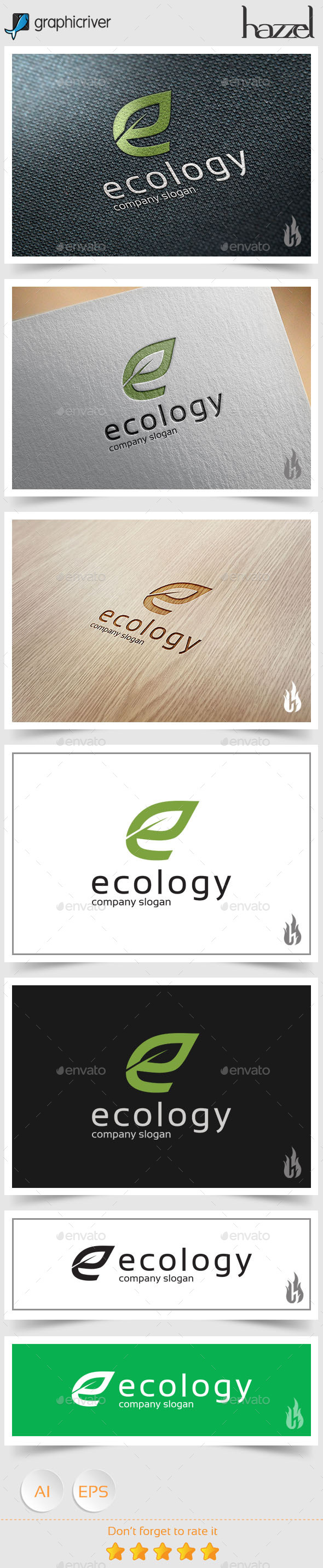 GraphicRiver Ecology Logo 8987984