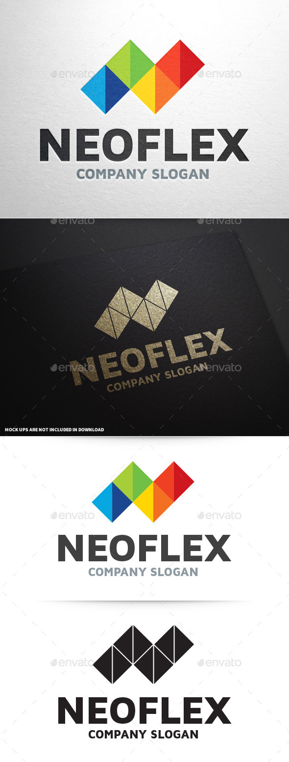 GraphicRiver NeoFlex Letter N Logo 8987997