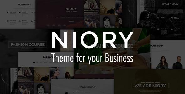 Niory - One Page Responsive Joomla Template - Retail Joomla