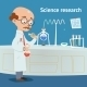 Scientist doing Research in a Laboratory - GraphicRiver Item for Sale