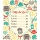 Oktoberfest Menu Template - GraphicRiver Item for Sale