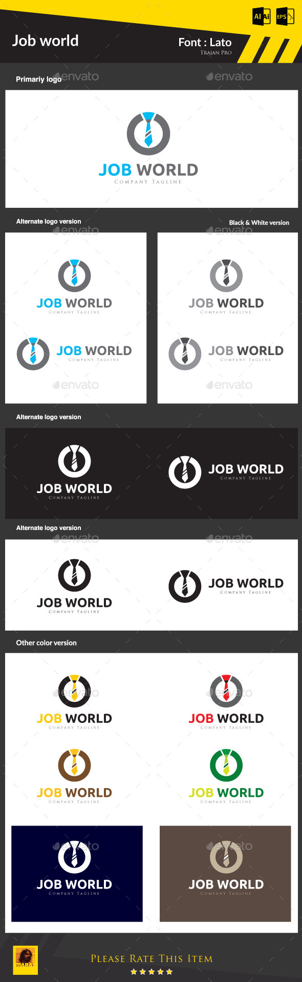 GraphicRiver Job World 8988317