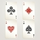 Four Aces Playing Cards - GraphicRiver Item for Sale