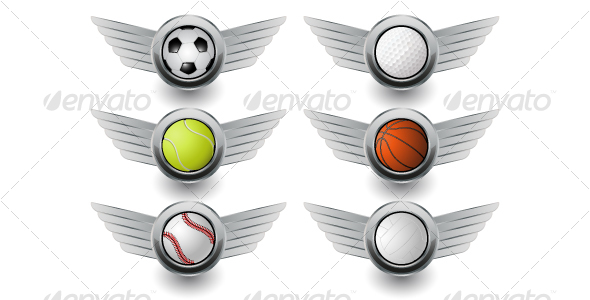 GraphicRiver Sport icons 116657