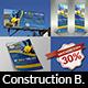 Construction Advertising Bundle Vol.3 - GraphicRiver Item for Sale