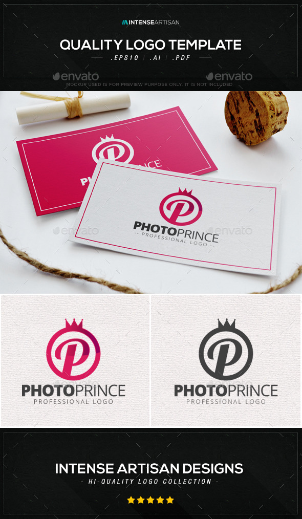GraphicRiver Photo Prince Logo Template 8988393