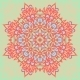 Flower Mandala. Abstract Background. - GraphicRiver Item for Sale