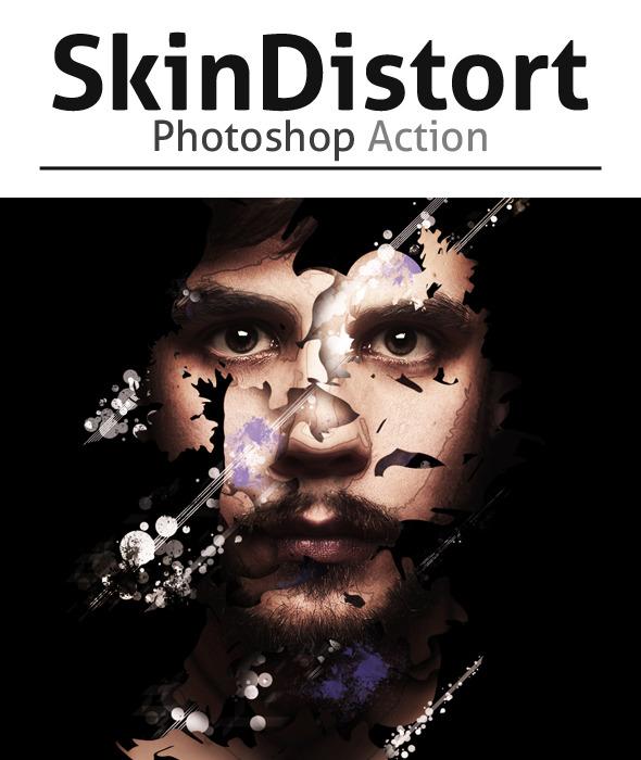GraphicRiver SkinDistort Effect Photoshop Action 8988447