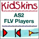 kidSkins FLV players: as2 - ActiveDen Item for Sale