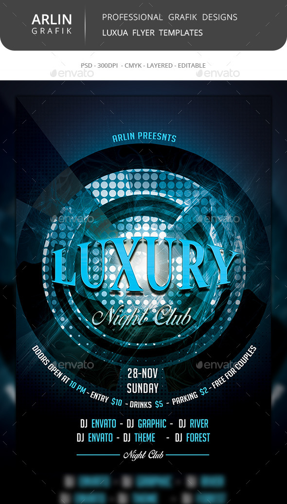 GraphicRiver Luxury Flyer Template 8988473