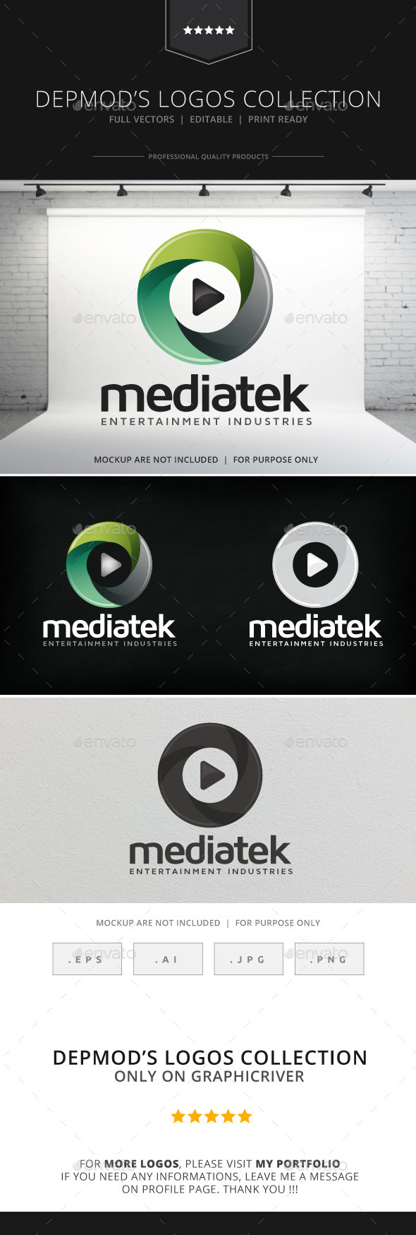 GraphicRiver Mediatek V.02 Logo 8988493