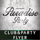 Paradise Flyer Template  - GraphicRiver Item for Sale