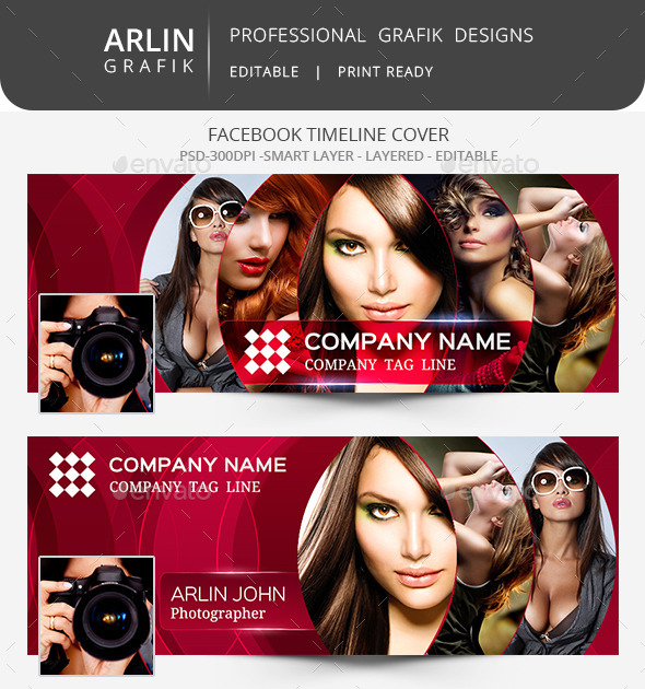 GraphicRiver Facebook Timeline cover Template 8988537