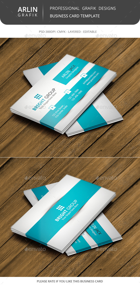 GraphicRiver Creative Corporate Business Card 8988547