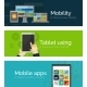 Flat Business Banners - GraphicRiver Item for Sale