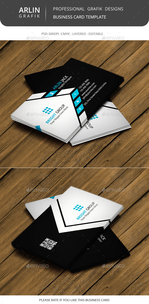 GraphicRiver Creative business card 8988586