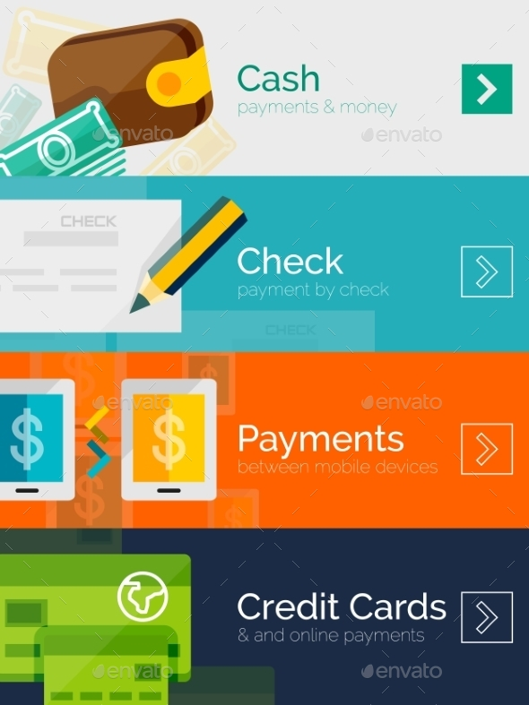 GraphicRiver Payment Online Concept 8988587