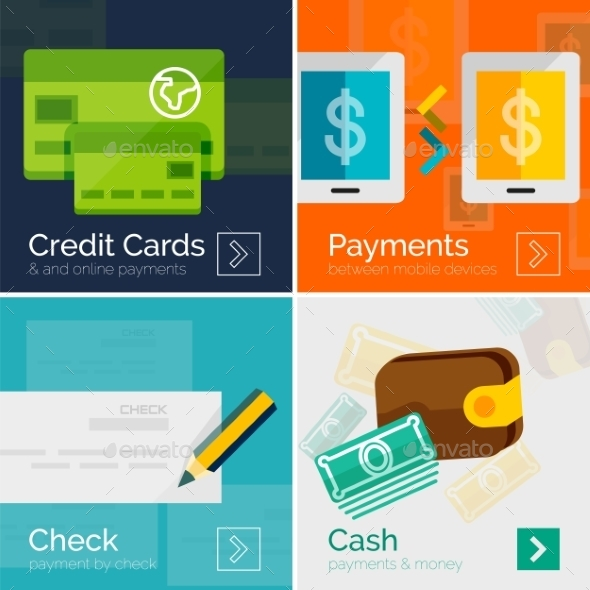 GraphicRiver Payment Online Concept 8988595