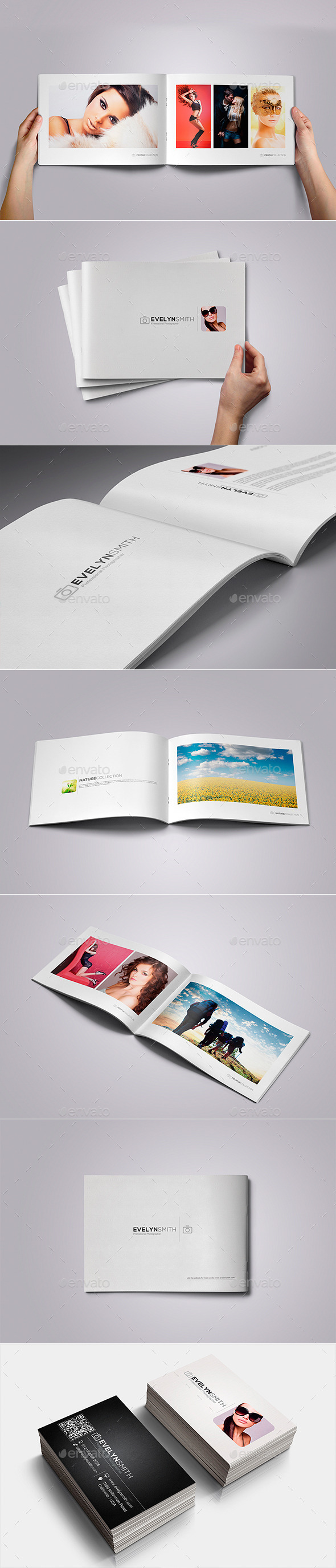 GraphicRiver Minimal Photographer Portfolio 8988641
