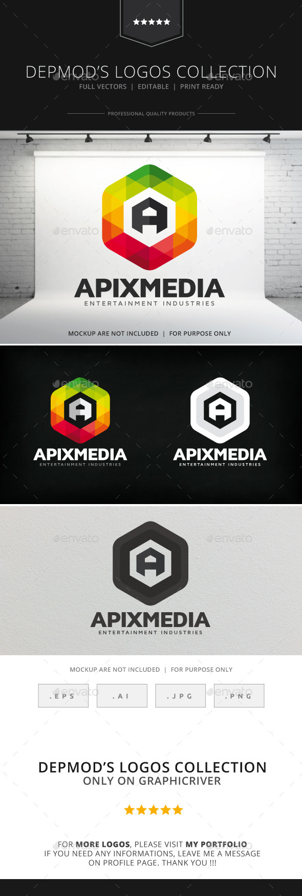 GraphicRiver Apix Media Logo 8988646