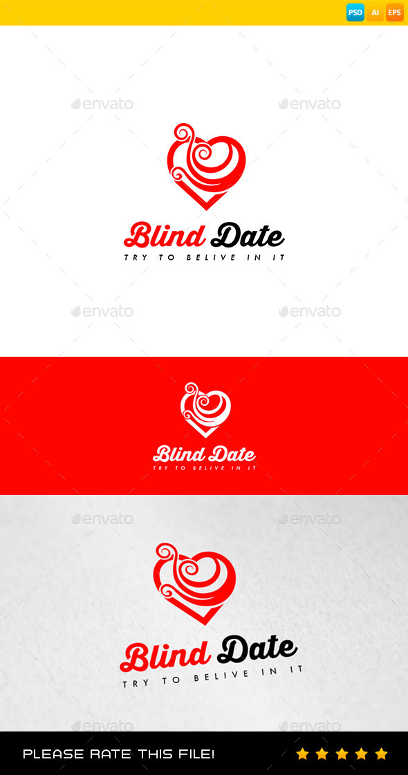 GraphicRiver Heart Logo 8988056