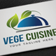 Vege Cuisine Logo - GraphicRiver Item for Sale