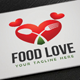 Food Love Logo - GraphicRiver Item for Sale