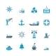 Sea Port Icons Set - GraphicRiver Item for Sale