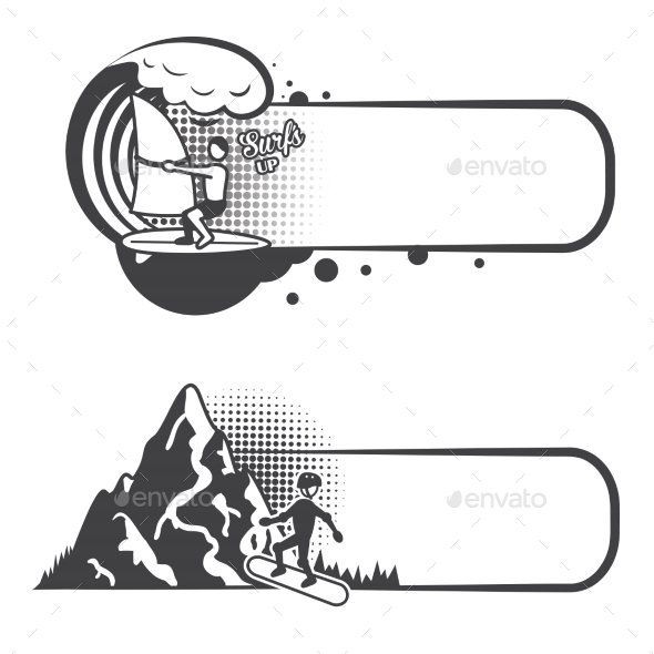 GraphicRiver Extreme Sports Bookmarks 8989291