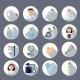 Nurse Icon Set - GraphicRiver Item for Sale