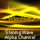 Shining Wave With Alpha Channel - VideoHive Item for Sale