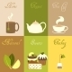 Tea Mini Posters Set - GraphicRiver Item for Sale