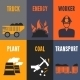 Coal Industry Mini Posters - GraphicRiver Item for Sale