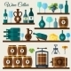 Wine Cellar Icons - GraphicRiver Item for Sale