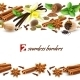 Spices Seamless Borders - GraphicRiver Item for Sale