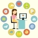 Business Communication Concept - GraphicRiver Item for Sale