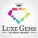 Luxe Gems Logo - GraphicRiver Item for Sale
