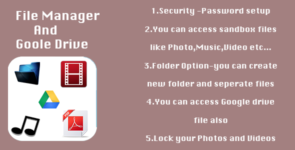 CodeCanyon File Manager and Goole Drive 8989353