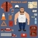Driver Character Elements - GraphicRiver Item for Sale