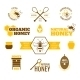 Bee Honey Label Colored - GraphicRiver Item for Sale