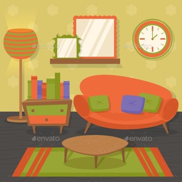 GraphicRiver Interior Design Sofa 8989414