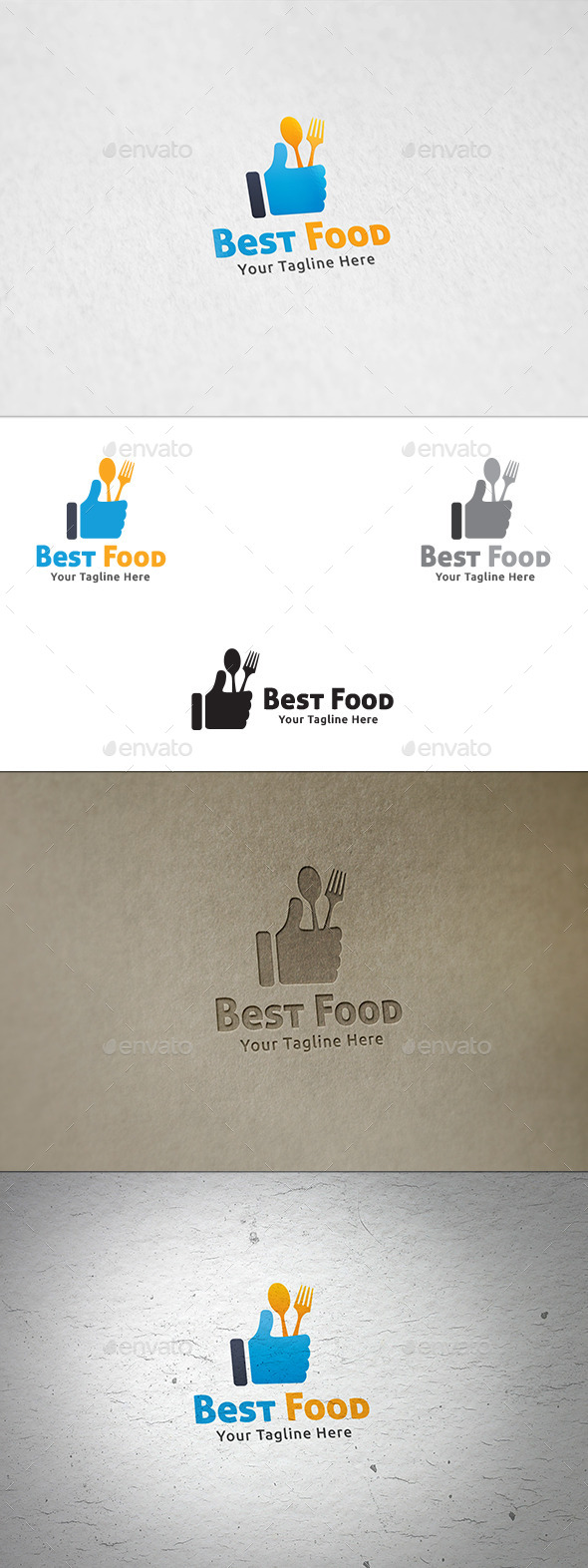 Best Food - Logo Template