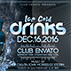 Ice Cold Party Flyer - GraphicRiver Item for Sale