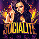 Socialite Night Flyer Template - GraphicRiver Item for Sale