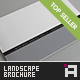 Minimal Series • Landscape Brochure Template - GraphicRiver Item for Sale
